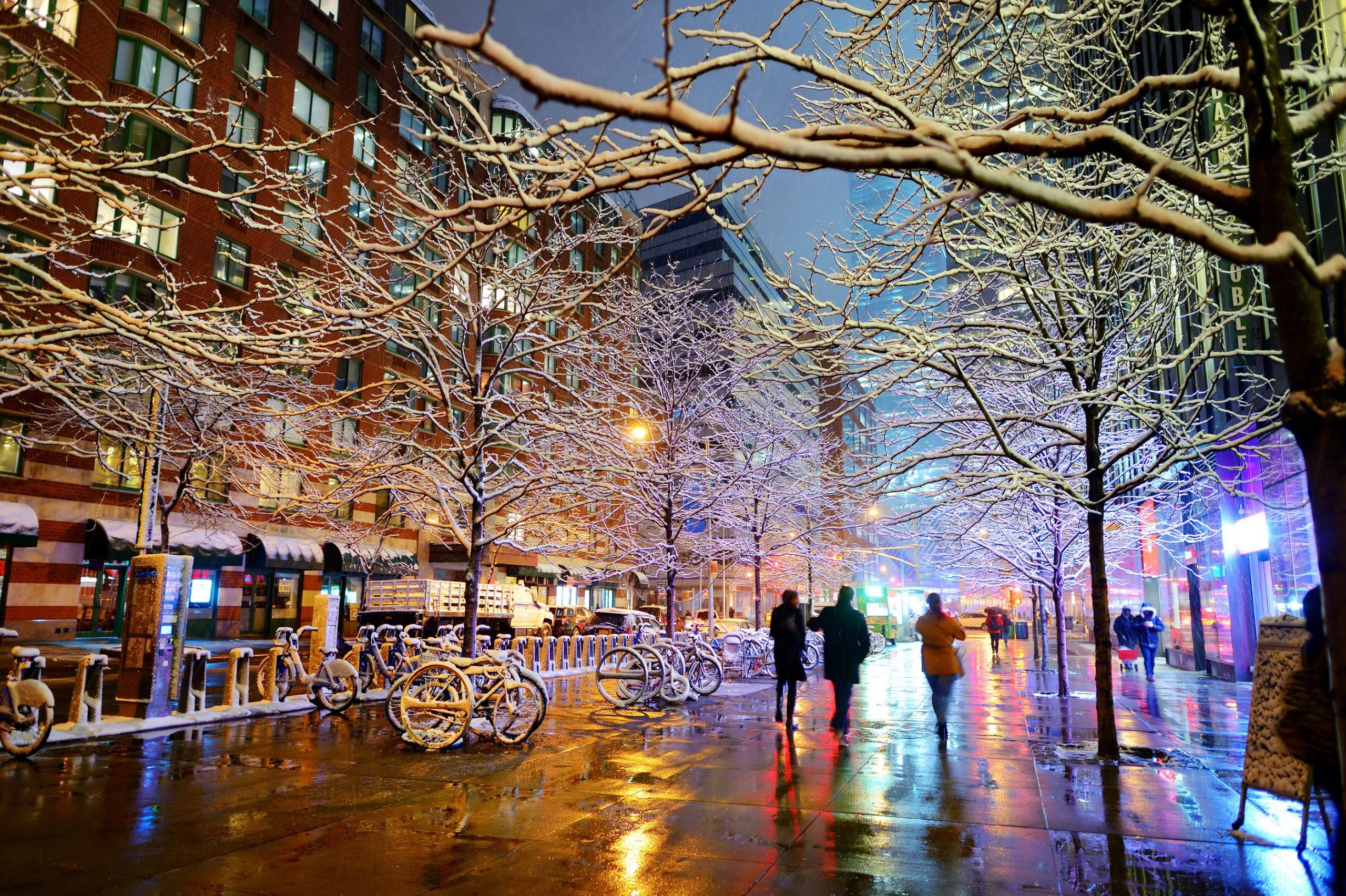 new york vinter billige flybilletter