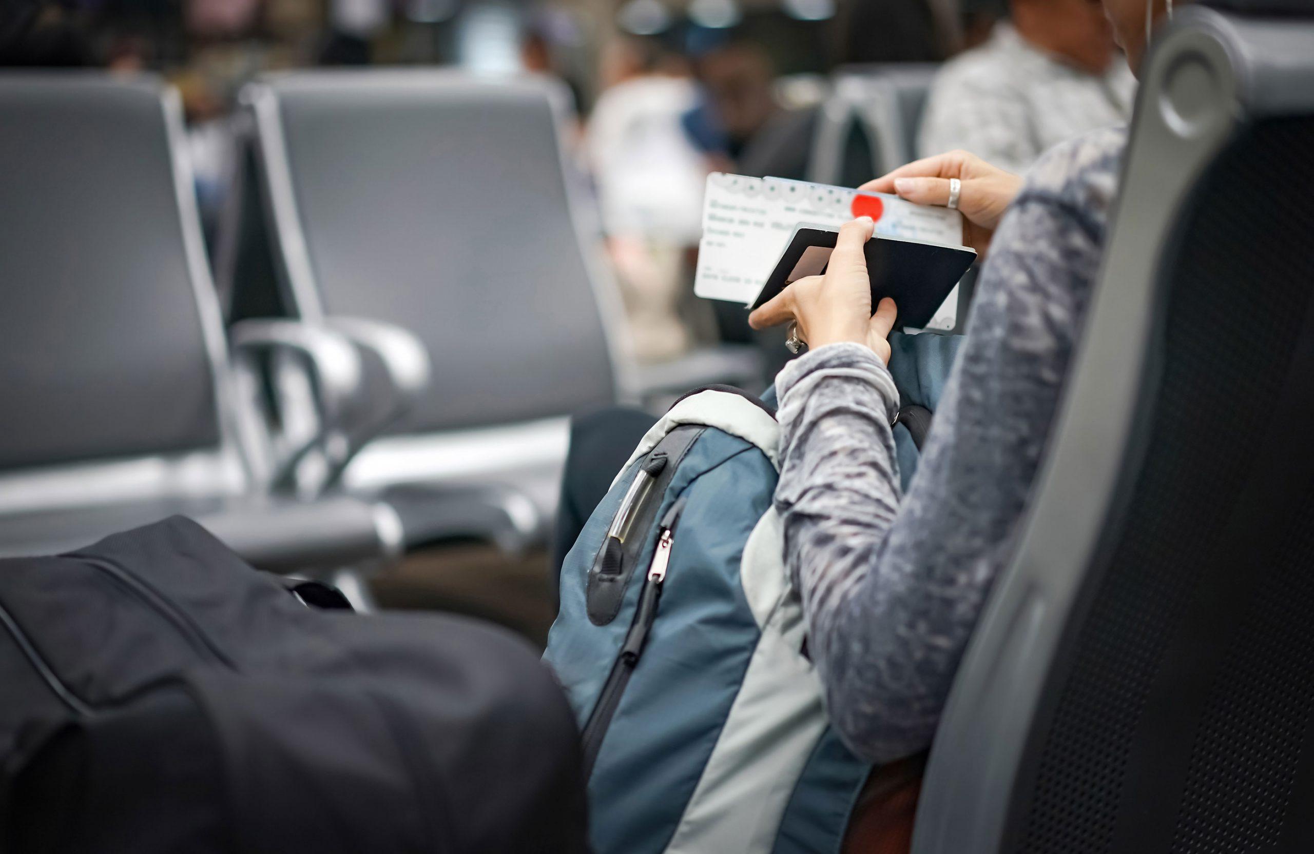 billetter riktig navn fly til USA New York passregler