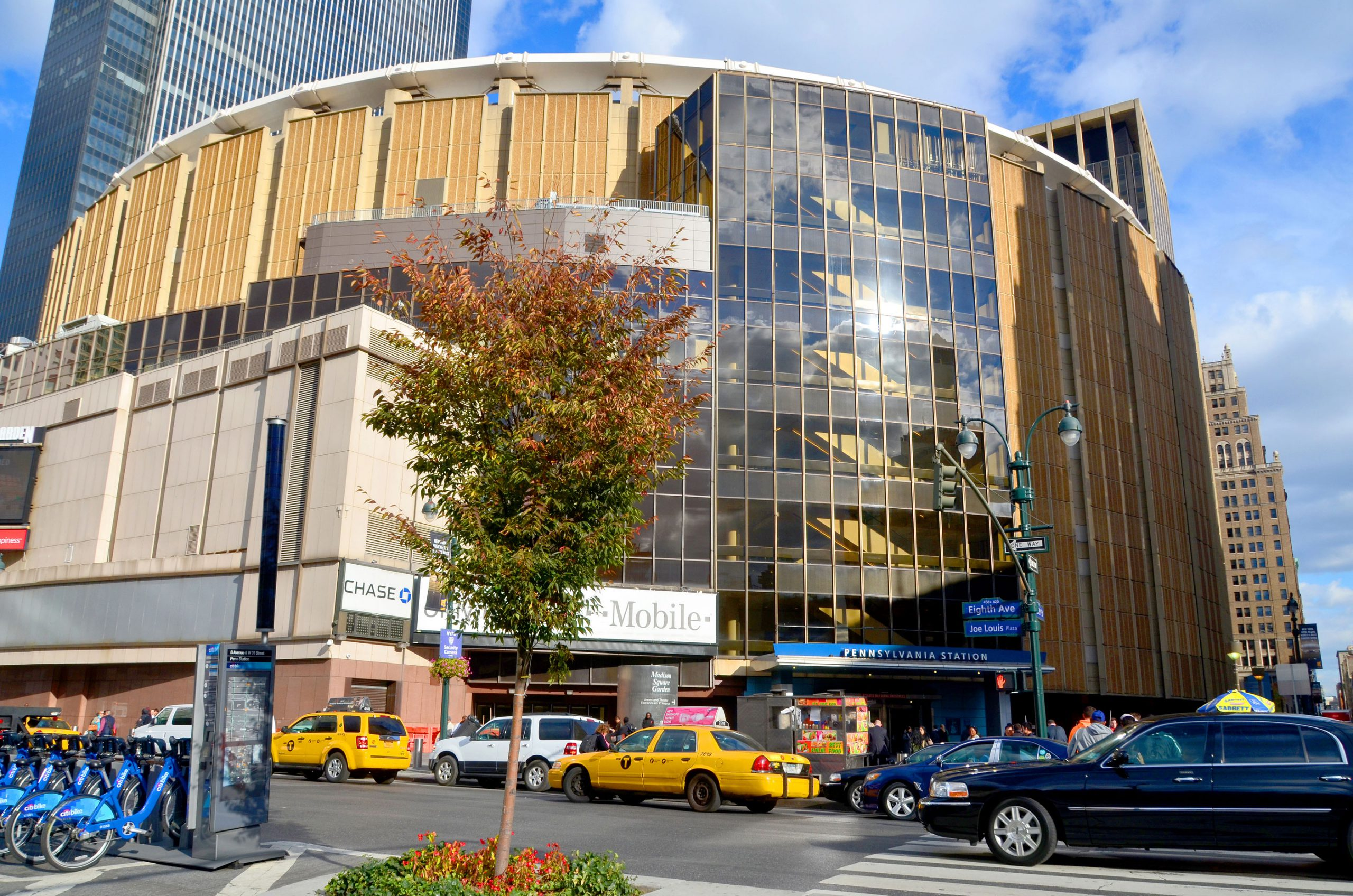 Madison Square Garden hjemmebane stadion New York Rangers ishockey NHL